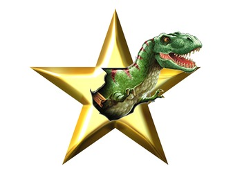 Gold, Silver and Bronze Certificates- Dinosaur Themed, EDITABLE!