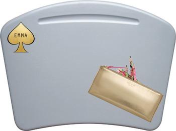 Gold Spade Name Tag/ Desk Tag/ Locker Tag