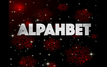 Silver Sparkle Alphabet clipart