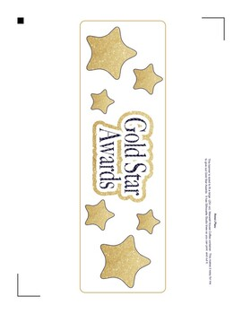 Gold Star Award System
