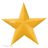 Gold Star Clip Art - Gold Star Graphic Printable Tracey Gurley Designs