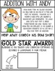 Gold Star Homework Packet - Addition & Subtraction with regrouping