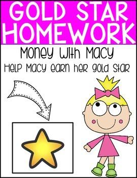 Gold Star Homework Packet - Money