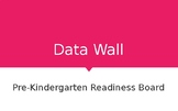 Gold Teaching Strategies Data Wall for Pre-Kindergarten 3 and 4