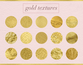 Gold Textures, Beautiful Gold Backgrounds