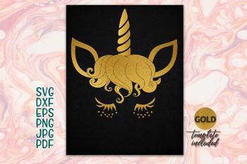 image relating to Unicorn Eyelashes Printable identify Gold Unicorn Facial area Eyelashes svg slash document iron upon printable female t-blouse template