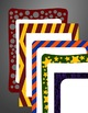 Gold / Yellow and Maroon - School Spirit Borders 4 Pack