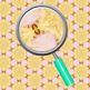 Gold and Lavender Backgrounds / Digital Paper Clip Art Set for Commercial Use