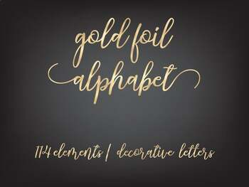 Gold letters clipart, Gold numbers, Gold font, Gold alphabet clipart, Decorative