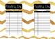 Gold & monotone reading log pack