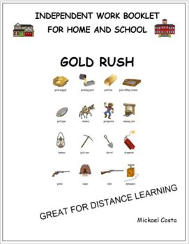 Gold rush literacy distance learning (#1168) by