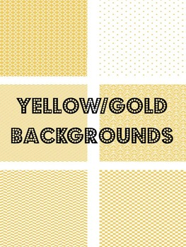 Gold/Yellow Backgrounds
