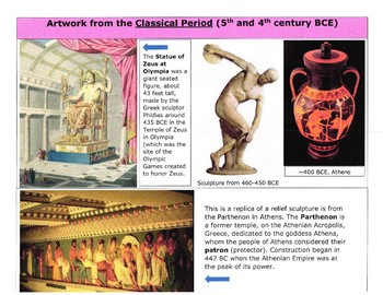 Golden Age of Ancient Greece Gallery Walk