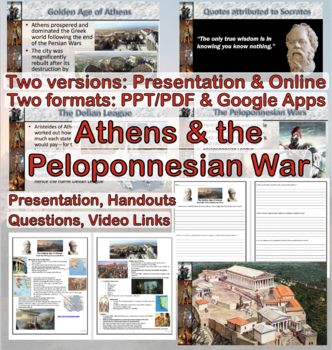 Ancient Greece: Golden Age of Athens and the Peloponnesian War