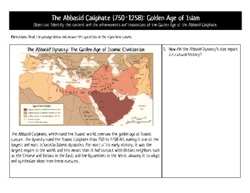 Golden Age of Islam: Student Analysis