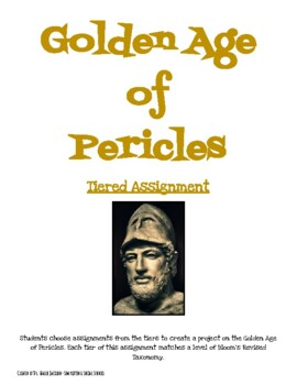 Golden Age of Pericles- Tiered Assignment