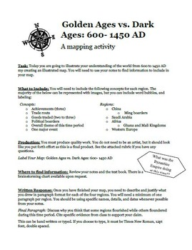 Golden Ages vs. Dark Ages Mapping