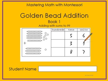 Golden Bead Addition Book 1