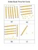 Golden Beads Three Part Cards: Set B