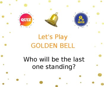 Golden Bell grammar quiz game