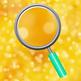 Golden Bokeh Digital Papers / Backgrounds Clip Art Set