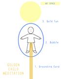 Golden Child Meditation Flyer