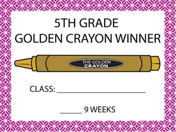Golden Crayon Elementary Grades II Bundle