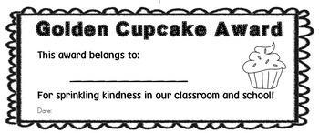 Golden Cupcake Award