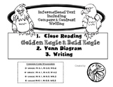 Golden Eagle vs. Bald Eagle Close Reading with Writing and