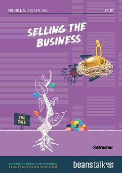 Golden Egg - Selling the Business Refresher Pack