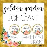 Golden Garden Job Chart