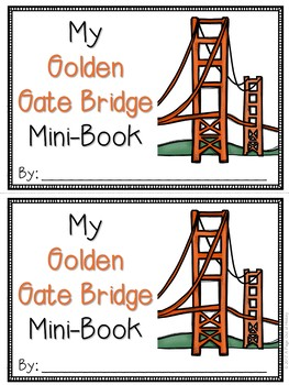Golden Gate Bridge Mini-Books (U.S. Landmarks)
