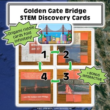 Golden Gate Bridge STEM Discovery Cards Kit