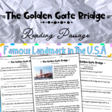 Golden Gate Bridge part of Landmarks in the USA Distance Learning