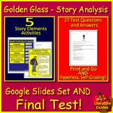 Golden Glass Digital Activities 8th Grade HMH Collections 1 - Close Reader HRW