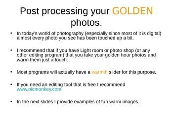 Golden Light Photography