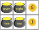 Golden Numbers (Identifying Number Words 1-10)