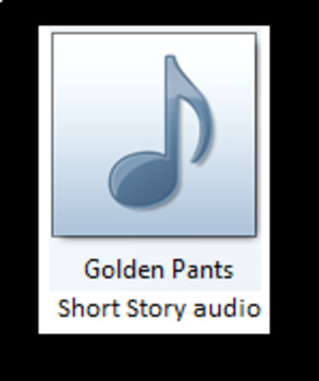 Golden Pants Short Story Audio & Assignment