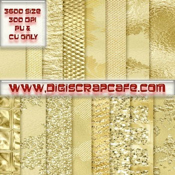 Golden Paper Collection Commercial Papers
