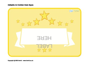 image regarding Golden Rule Printable known as Golden Recommendations Posters