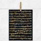Golden Sheet Music, Vintage Sheet Music Digital Paper, 8,5X11 In Musical Themed