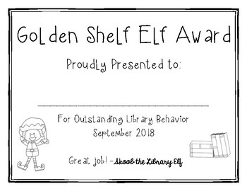 Golden Shelf Elf Award 2018