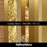 Golden Shine CU Paper Set