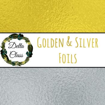 Golden & Silver Foil Backgrounds