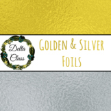 Golden & Silver Foil Backgrounds