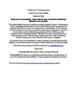 Golden Son (Red Rising #2) curriculum packet