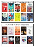 Golden Sower 2019-2020 Chapter Book and Novel Nominees Graphic
