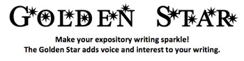 Golden Star (Expository Writing)