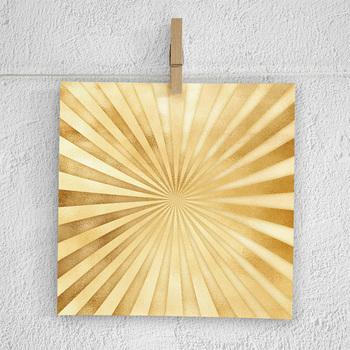 Golden Sunburst Digital Paper, Sunburst Backgrounds, Gold Sunburst Patterns