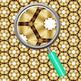 Golden Swish Backgrounds / Digital Paper Clip Art Set for Commercial Use